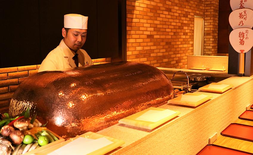 天ぷら会席「比叡」