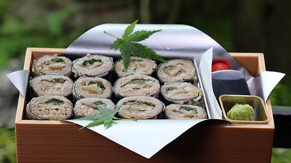 福俵 天ぷら蕎麦