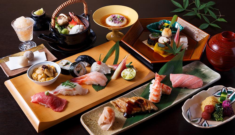 寿司カウンター席
